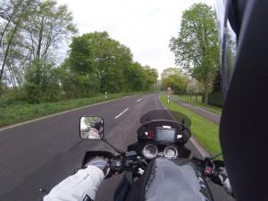 70 km/h auf freier Flur